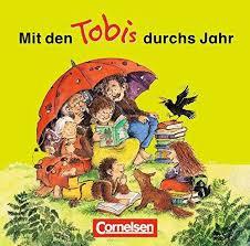 Tobi- Mit den Tobis durch das Jahr Lieder-CD - фото книги