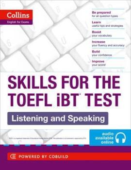 TOEFL Listening and Speaking Skills : TOEFL Ibt 100+ (B1+) - фото книги