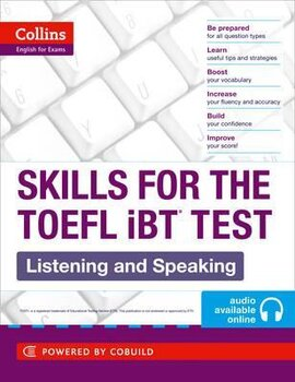 TOEFL Listening and Speaking Skills : TOEFL Ibt 100+ (B1+) - фото книги