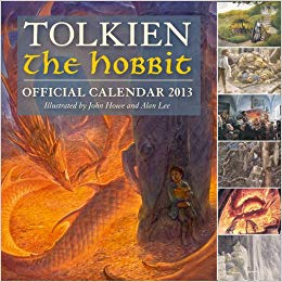 Tolkien Calendar 2013 : Illustrated by John Howe and Alan Lee - фото книги