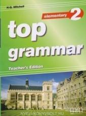 Top Grammar 2 Elementary Teacher's Edition - фото обкладинки книги