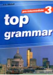 Top Grammar 3 Pre-Intermediate Student's Book - фото обкладинки книги