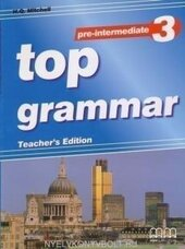 Top Grammar Pre-Intermediate 3 Teacher'S Edition - фото обкладинки книги