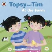 Topsy and Tim: At the Farm - фото обкладинки книги
