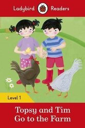 Topsy and Tim: Go to the Farm - Ladybird Readers Level 1 - фото обкладинки книги