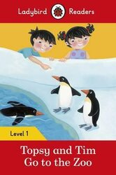 Topsy and Tim: Go to the Zoo - Ladybird Readers Level 1 - фото обкладинки книги