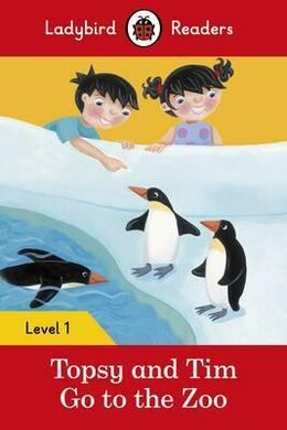 Topsy and Tim: Go to the Zoo - Ladybird Readers Level 1 - фото книги