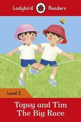 Topsy and Tim: The Big Race - Ladybird Readers Level 2 - фото обкладинки книги