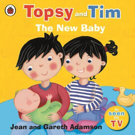 Topsy and Tim: The New Baby - фото книги