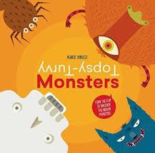 Topsy-Turvy Monsters - фото книги