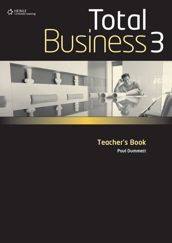 Книга для вчителя Total Business 3 Teacher Book