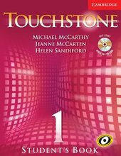 Touchstone 1. Student's Book with Audio CD/CD-ROM - фото обкладинки книги