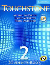 Touchstone 2. Student's Book with Audio CD/CD-ROM - фото обкладинки книги