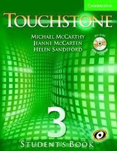 Touchstone 3. Student's Book with Audio CD/CD-ROM - фото обкладинки книги