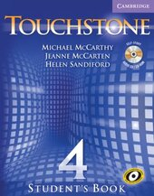 Touchstone 4. Student's Book with Audio CD/CD-ROM - фото обкладинки книги