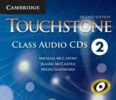 Touchstone Level 2. Class Audio CDs (набір із 4 аудіодисків) - фото обкладинки книги