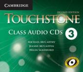 Touchstone Level 3. Class Audio CDs (набір із 4 аудіодисків) - фото обкладинки книги