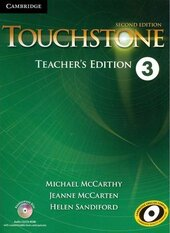 Touchstone Level 3. Teacher's Edition with Assessment Audio CD/CD-ROM - фото обкладинки книги