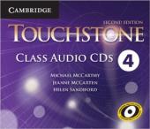 Touchstone Level 4. Class Audio CDs (набір із 4 аудіодисків) - фото обкладинки книги