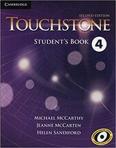 Touchstone Level 4. Student's Book - фото обкладинки книги