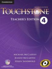 Touchstone Level 4. Teacher's Edition with Assessment Audio CD/CD-ROM - фото обкладинки книги