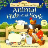Touchy-Feely Farmyard Tales. Animal Hide-and-Seek - фото обкладинки книги