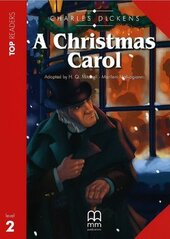 TR2 A Christmas Carol with Glossary & Audio CD - фото обкладинки книги