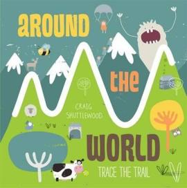 Trace the Trail: Around the World - фото книги