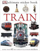 Train Ultimate Sticker Book - фото обкладинки книги
