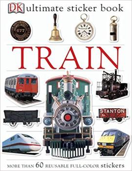 Train Ultimate Sticker Book - фото книги