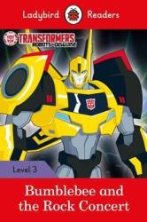 Transformers: Bumblebee and the Rock Concert - Ladybird Readers Level 3 - фото обкладинки книги