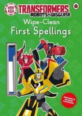 Transformers: Robots in Disguise - Wipe-Clean First Spellings - фото обкладинки книги