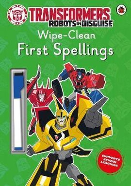 Transformers: Robots in Disguise - Wipe-Clean First Spellings - фото книги