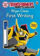 Transformers: Robots in Disguise - Wipe-Clean First Writing - фото обкладинки книги
