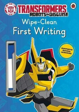 Transformers: Robots in Disguise - Wipe-Clean First Writing - фото книги