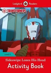 Transformers: Sideswipe Loses His Head Activity Book - Ladybird Readers Level 4 - фото обкладинки книги