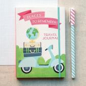Travel Pocket Journal - фото обкладинки книги