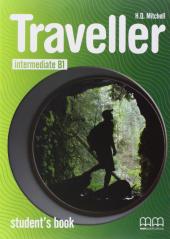 Traveller Intermediate B1. Student's Book - фото обкладинки книги