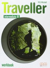 Traveller Intermediate B1. Workbook with Audio CD/CD-ROM - фото обкладинки книги