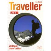 Traveller Level B1+. Workbook. Teacher's Edition - фото обкладинки книги