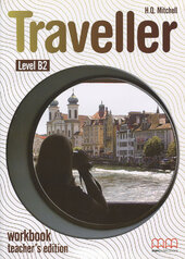 Traveller Level B2. Workbook. Teacher's Edition - фото обкладинки книги