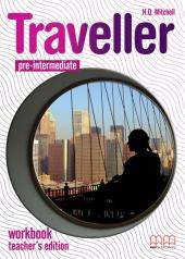 Traveller Pre-intermediate. Workbook. Teacher's Edition - фото обкладинки книги