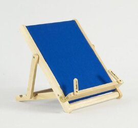 Тримач для книг Deckchair Bookchair Deluxe Standard Blue - фото книги