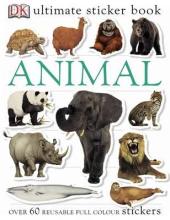 Ultimate Sticker Book. Animal - фото обкладинки книги