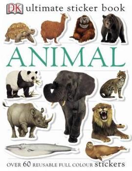 Ultimate Sticker Book. Animal - фото книги