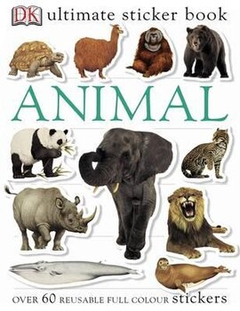 Ultimate Sticker Book. Animal - фото книги