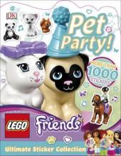Ultimate Sticker Collection: LEGO Friends Pet Party! - фото обкладинки книги
