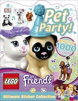 Ultimate Sticker Collection: LEGO Friends Pet Party! - фото книги