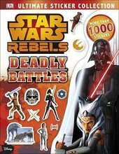 Ultimate Sticker Collection: Star Wars Rebels. Deadly Battles - фото обкладинки книги