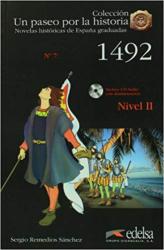 Un Paseo Por LA Historia : 1492 + CD - фото обкладинки книги